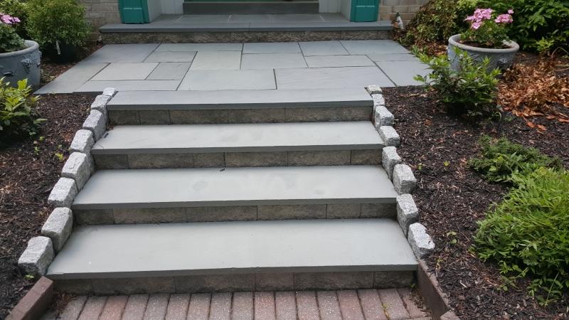 Flagstone Step Repair in Medford NJ