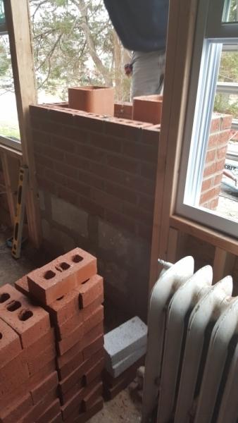 chimney brick repair in delaware county