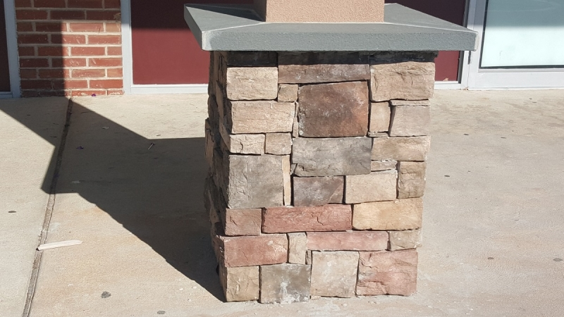 Stone Column and Capping
