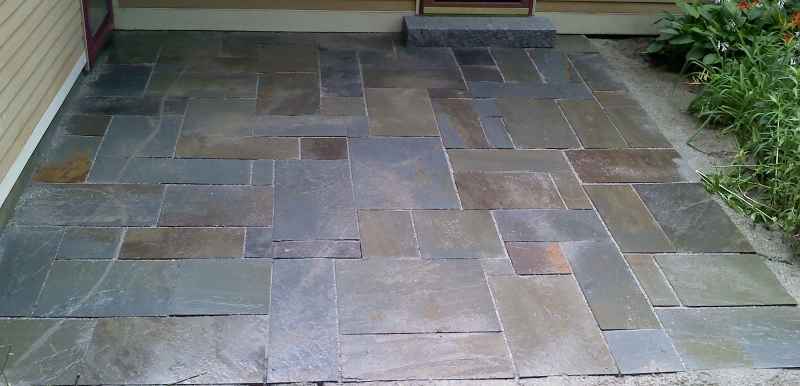 Slate Patio Repair and Installation