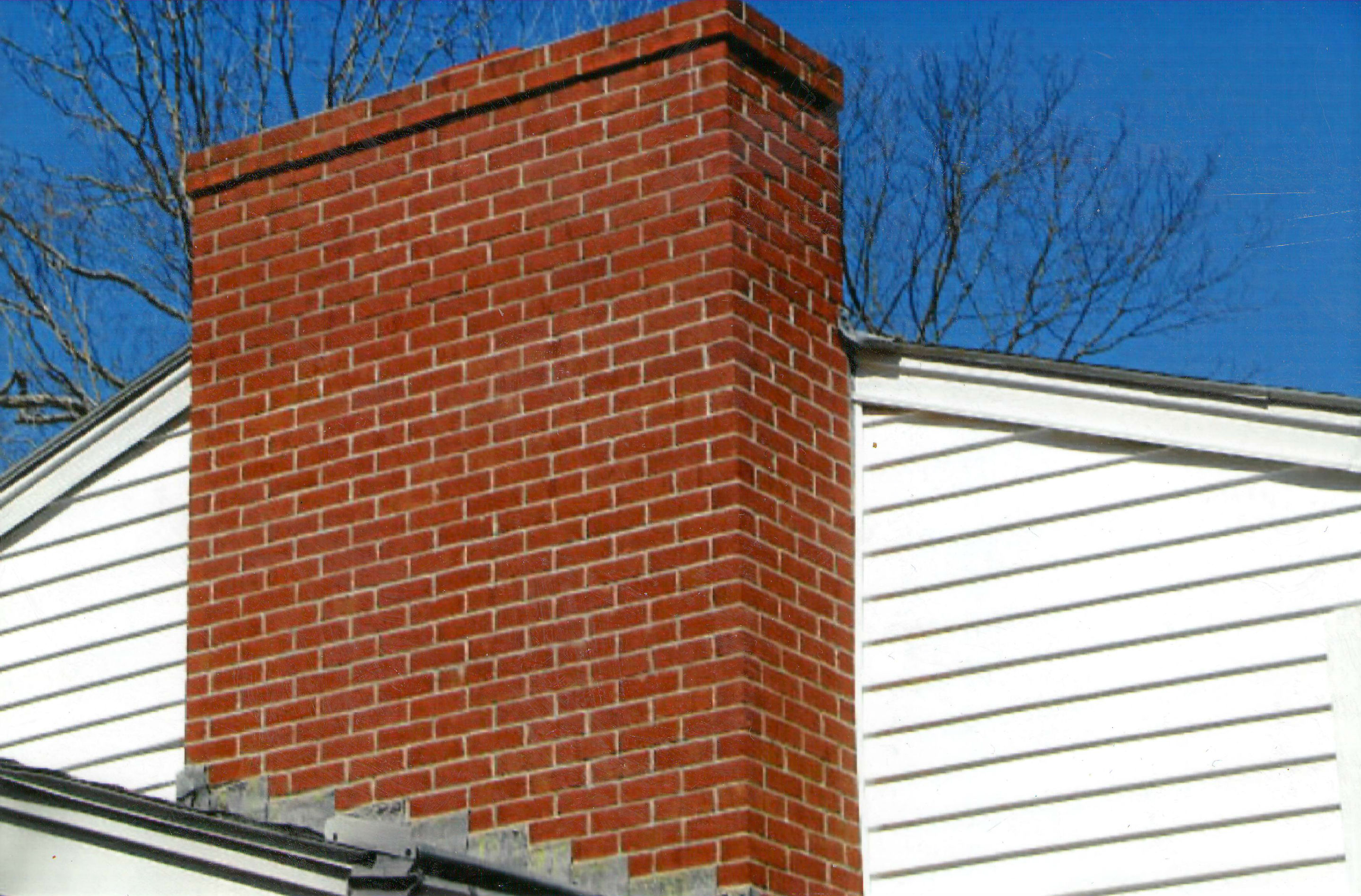 brick chimney pointing and repair mt. laurel nj